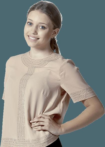 Daniella, kundekonsulent og talent i Sales Academy